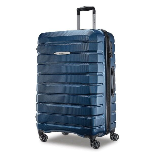 Samsonite Tech-2 Hardside 2 Piece Suitcase/Luggage Set 4 Wheel Spinner in Blue